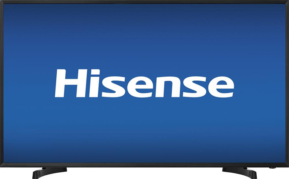 """Hisense - 40"""" Class (39.5"""" Diag.) - Led - 1080p - Hdtv - Black"""