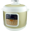Click here for Midea - 6-quart Electric Pressure Cooker - Gold/wh... prices