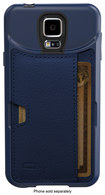 CM4 - Q Card Case for Samsung Galaxy S 5 Cell Phones - Midnight Blue