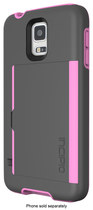 Incipio - STOWAWAY Case for Samsung Galaxy S 5 Cell Phones - Gray/Light Pink