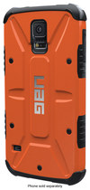 Urban Armor Gear - Composite Case for Samsung Galaxy S 5 Cell Phones - Rust/Black