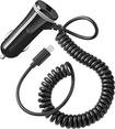 Insignia™ - 15W Vehicle Charger with Lightning Cable and USB Port - Black