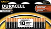 Duracell - AAA Batteries (16-Pack) - Black