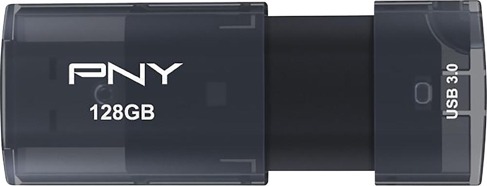 Pny - Elite X 128gb Usb 3.0 Flash Drive - Silver