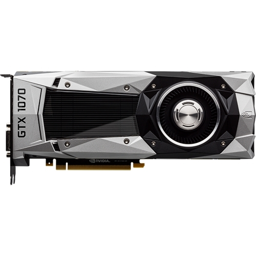 PNY - Founders Edition GeForce GTX 1070 8GB GDDR5X PCI Express 3.0 Graphics Card