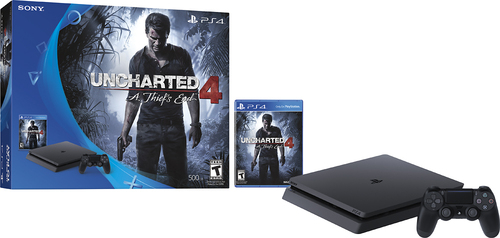 Sony PlayStation 4 Console Uncharted 4: A Thief's End Bundle 3001504