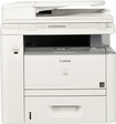 Canon - imageCLASS D1370 Network-Ready Black-and-White All-In-One Printer - White
