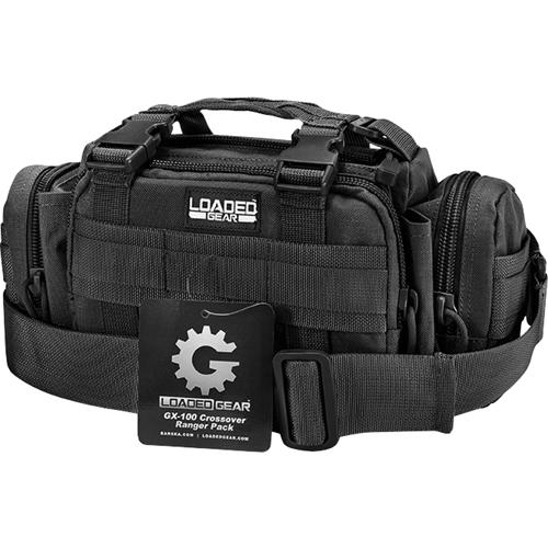 Barska - Loaded Gear Gx-100 Camera Bag - Black