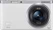 Samsung - NX Mini Compact System Camera with 9-27mm Lens - White