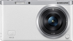 Samsung - NX Mini Mirrorless Camera with 9mm Lens - White