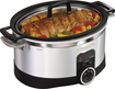 Hamilton Beach - 6-Quart Programmable Stovetop Slow Cooker - Silver