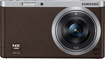 Samsung - NX Mini Mirrorless Camera with 9mm Lens - Brown
