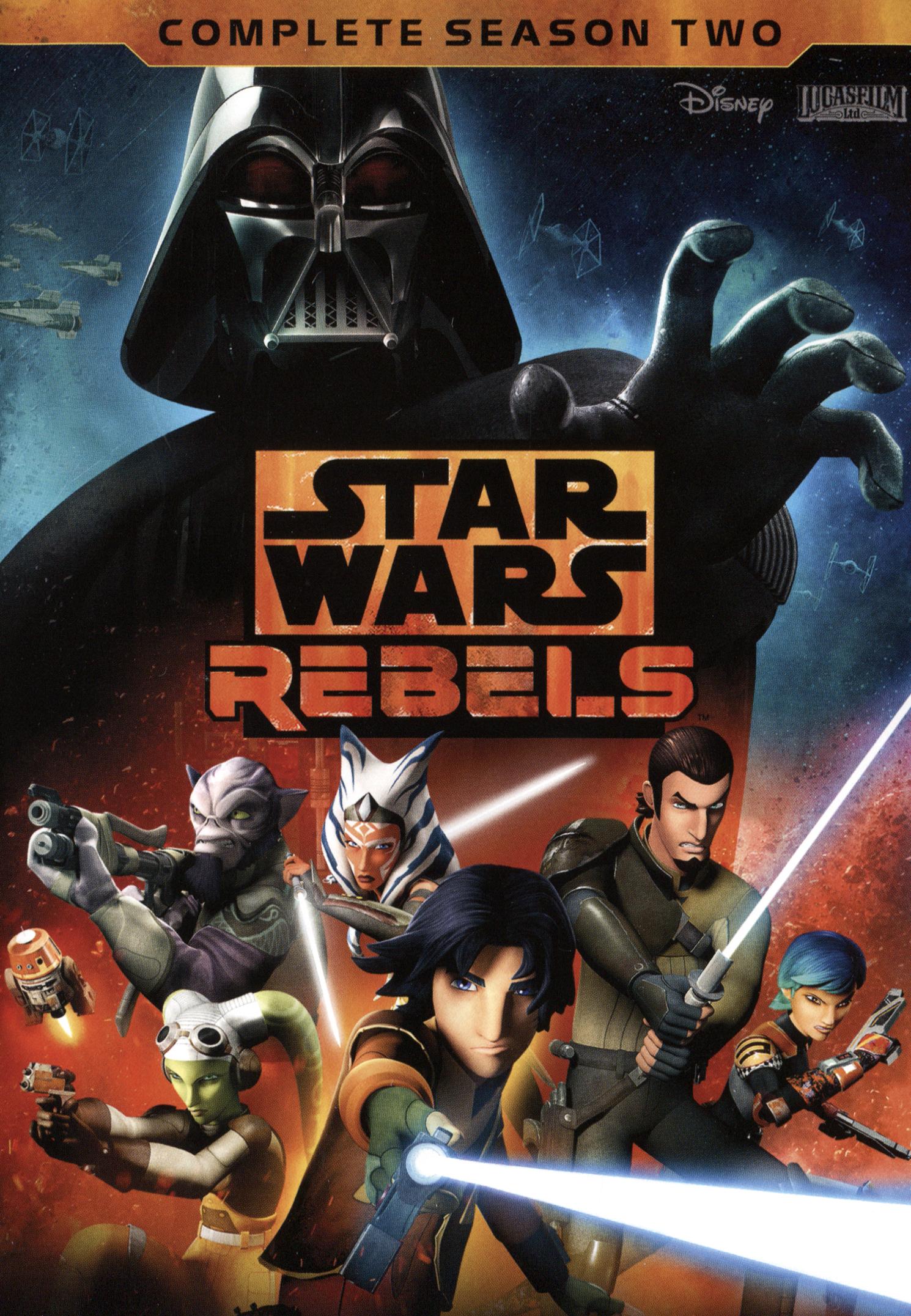 Star Wars Rebels: The Complete Season 2 [4 Discs] (dvd) 5407100
