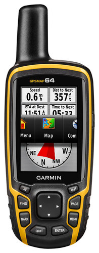 Garmin - Gpsmap 64 2.6 Handheld GPS - Yellow