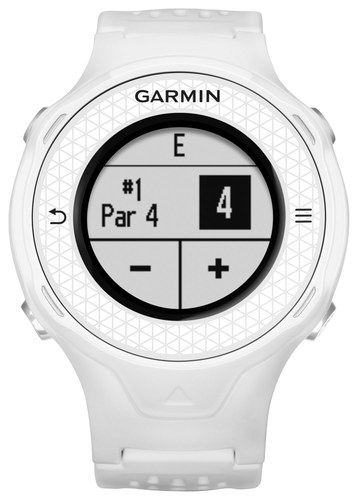 Garmin - Approach S4 GPS Golf Watch - White