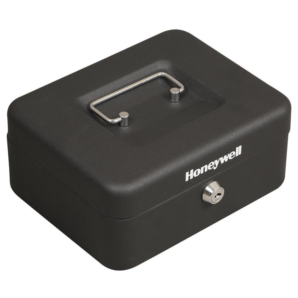 Honeywell - Safe With Key Lock - Black 5408705
