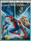 The Amazing Spider-Man 2 (Blu-ray 3D) (Boxed Set) (Ultraviolet Digital Copy) (Eng/Fre/Spa) 2014