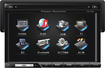 """Power Acoustik - 7"""" - CD/DVD - Built-In Bluetooth - In-Dash Deck with Detachable Faceplate - Black"""