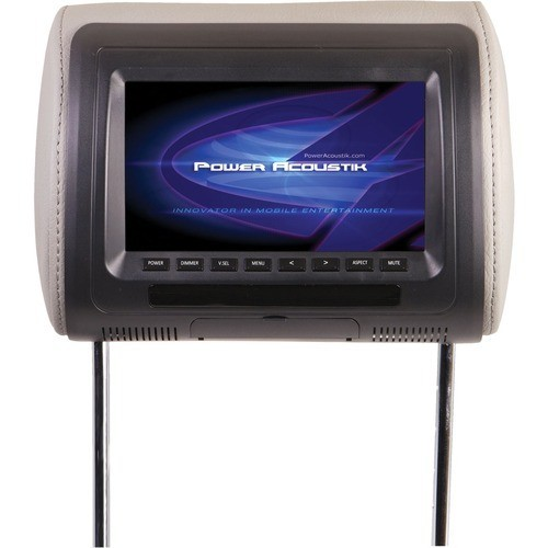Power Acoustik - Universal Replacement Headrest Pre-Loaded