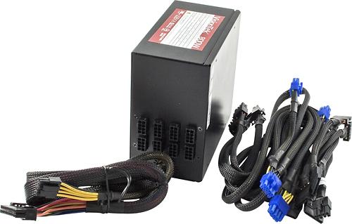 VisionTek - Modular Series 800W Internal Power Supply - Black