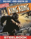 King Kong [2 Discs] [includes Digital Copy] [ultraviolet] [steelbook] [blu-ray/dvd] 5419031