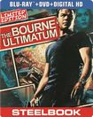 The Bourne Ultimatum [2 Discs] [includes Digital Copy] [ultraviolet] [steelbook] [blu-ray/dvd] 5419182