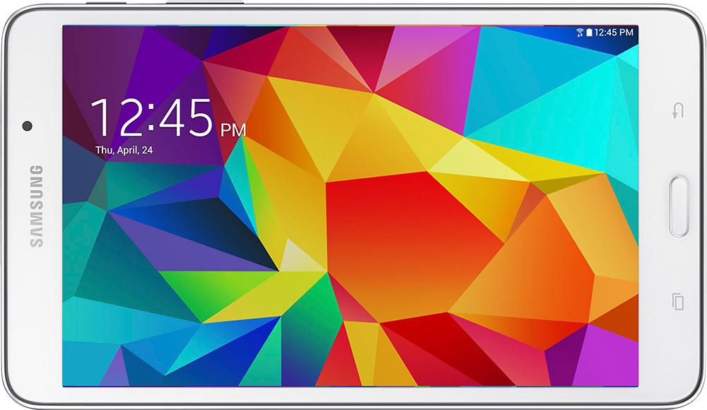 "Samsung - Galaxy Tab 4 - 7"" - 8GB - White"