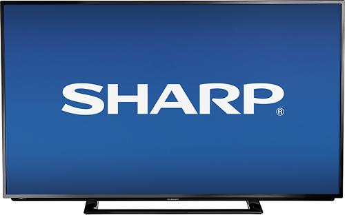 """Sharp - 50"""" Class (49-1/2"""" Diag.) - LED - 1080p - 120Hz - HDTV"""