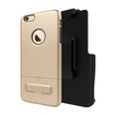 Seidio - Surface Combo Case For Apple Iphone 6 Plus And 6s Plus - Gold\/dark Pink
