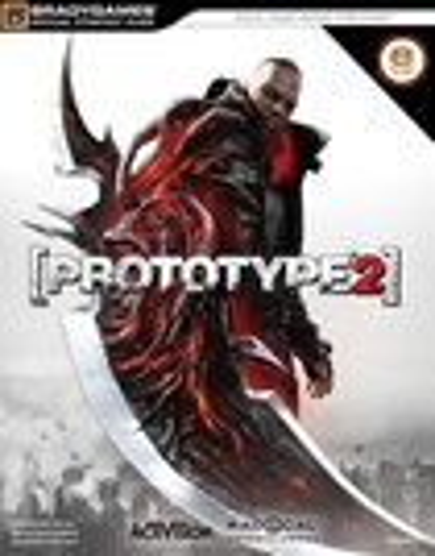 Brady Games - Prototype 2 (Signature Series E-Guide) - White/Black/Red