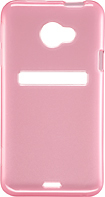 Rocketfish™ Mobile - SoftCase Gel Case for HTC EVO 4G LTE Cell Phones - Pink