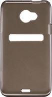 Rocketfish™ Mobile - SoftCase Gel Case for HTC EVO 4G LTE Cell Phones - Smoke