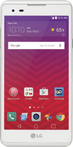 Virgin Mobile - Lg Tribute Hd 4g Lte With 8gb Memory Prepaid Cell Phone - White