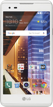 Boost Mobile - Lg Tribute Hd 4g Lte With 8gb Memory Prepaid Cell Phone - White