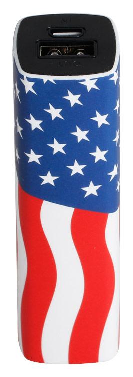 LifeCHARGE - SMART Series Portable USB Power Pack - USA Flag