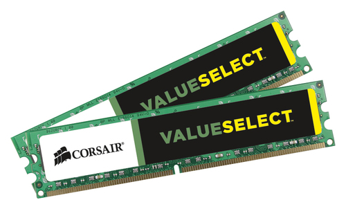 Corsair - 2-Pack 8GB DDR3 DIMM Desktop Memory Kit - Multi