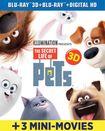 The Secret Life Of Pets [3d] [includes Digital Copy] [ultraviolet] [blu-ray] [2 Discs] 5431205