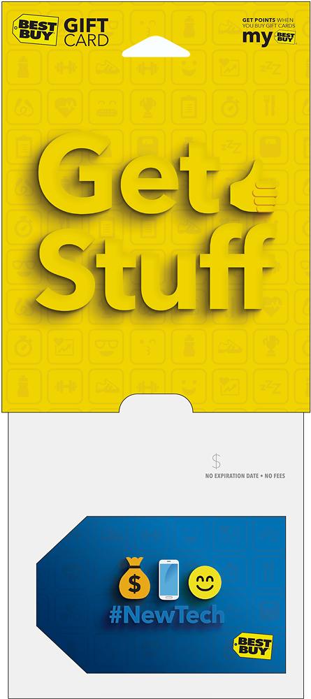 Best Buy Gc - $200 Get Stuff Gift Card