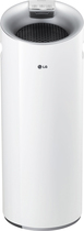 Lg - Puricare Tower Air Purifier - White 5436202
