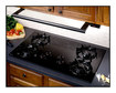 "GE Profile - Profile 36"" Slide-Out Range Hood - Black"