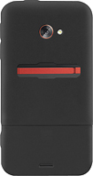 Platinum Series - Case with Holster for HTC EVO 4G LTE Cell Phones - Black