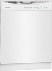 """Frigidaire - 24"""" Tall Tub Built-In Dishwasher - White"""