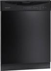 "Frigidaire - 24"" Tall Tub Built-In Dishwasher - Black"