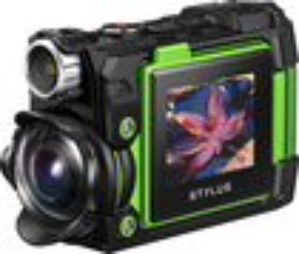 Olympus - TG-Tracker 4K Waterproof Action Camera - Green