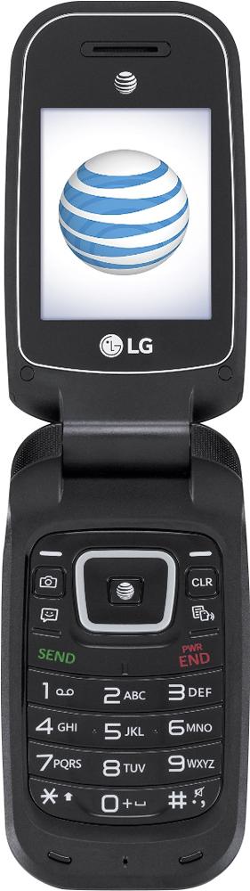 At & t Gophone - Lg B470 Prepaid Cell Phone - Black
