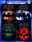 Batman Collection: 4 Film Favorites [4 Discs] [blu-ray] 5446004