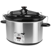 Kalorik - 8-quart Slow Cooker - Stainless Steel 5446204
