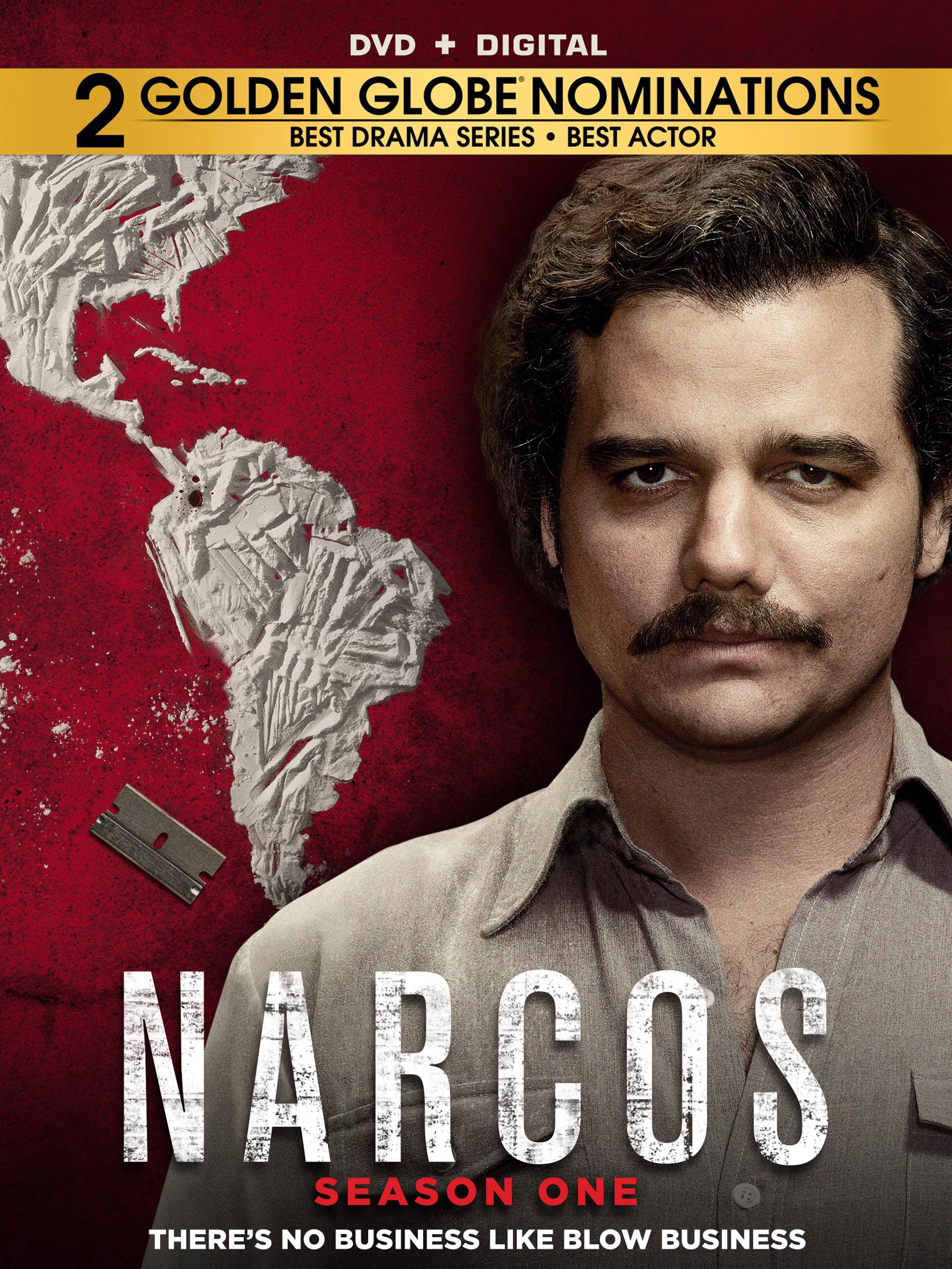Narcos: Season 1 [4 Discs] (dvd) 5450530