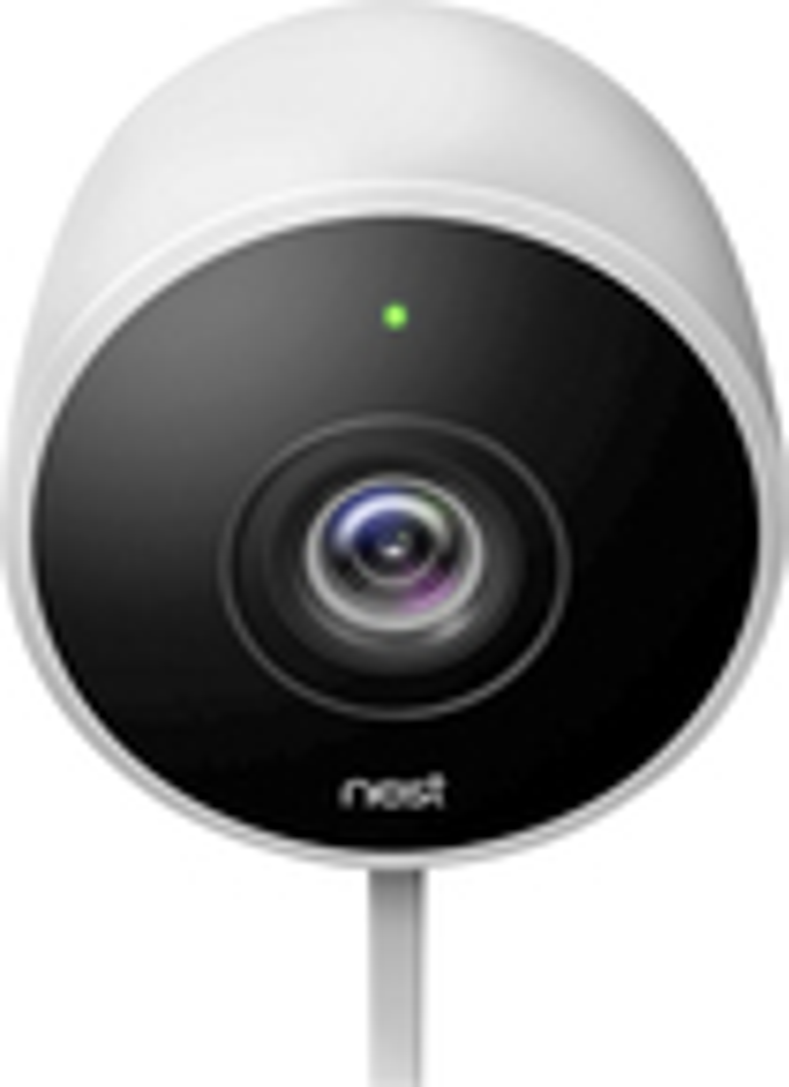 Nest - Cam Outdoor 1080p Security Camera - White