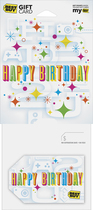 Best Buy Gc - $20 Birthday Hbd2u Gift Card